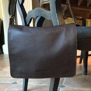 Authentic Longchamp leather crossbody